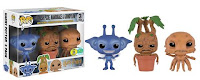 Pop! Minis: Harry Potter 3-pack - Cornish Pixie, Mandrake & Grindylow