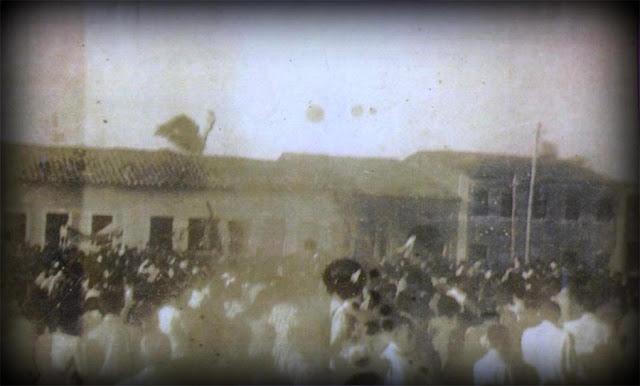 Semana Santa em Campo do Brito - Década de 1940