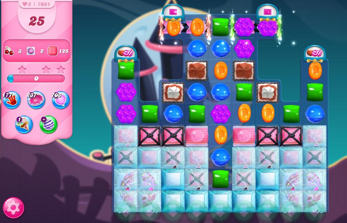 Candy Crush Saga level 7031