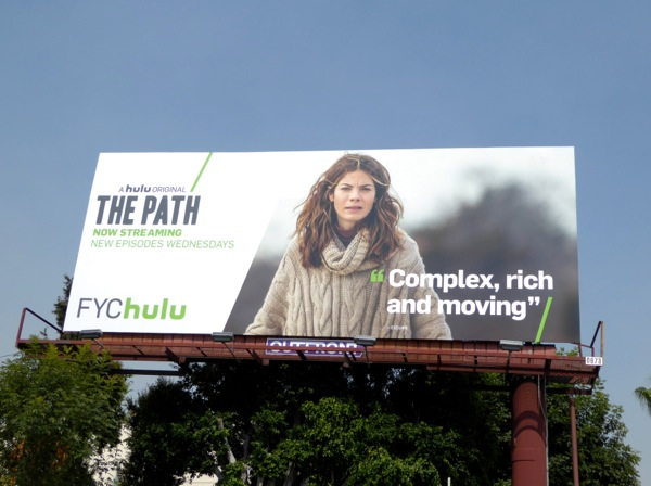 The Path Hulu 2016 Emmy billboard