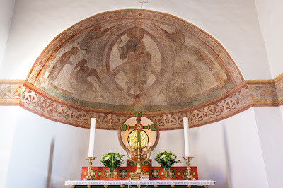 church, architecture, apse, christ, domini, denmark, rainbow, evangelists, christianity, editorial, tveje merlose, mandorla, pantokrator, majestas, https://www.shutterstock.com/image-photo/medieval-mural-christ-pantocrator-sitting-on-564266644