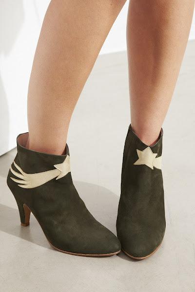 Boots Patricia Blanchet Chinaski Kaki