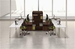 Modular Open Desking