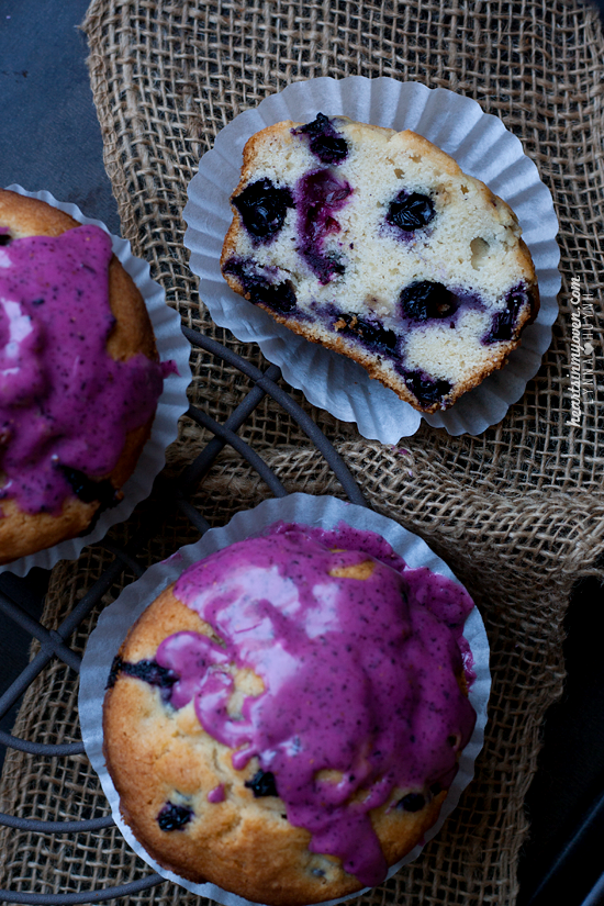 Blueberry Glaze For Pound Cake