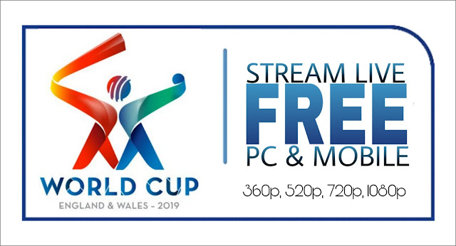 ICC World Cup 2019 Live Stream online Today Match in Hindi and English Free