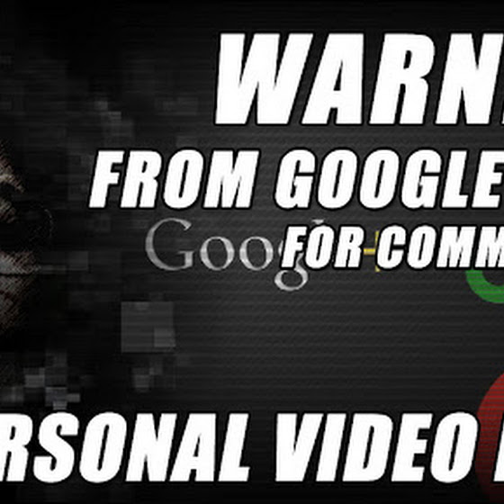 Warning From Google Plus ★ Commenting On A Freedom Network Video