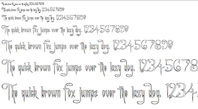 Font chữ độc đáo