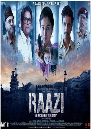 Raazi 2018 Full Hindi Movie Download Hd In Pdvdrip 700mb Platinum