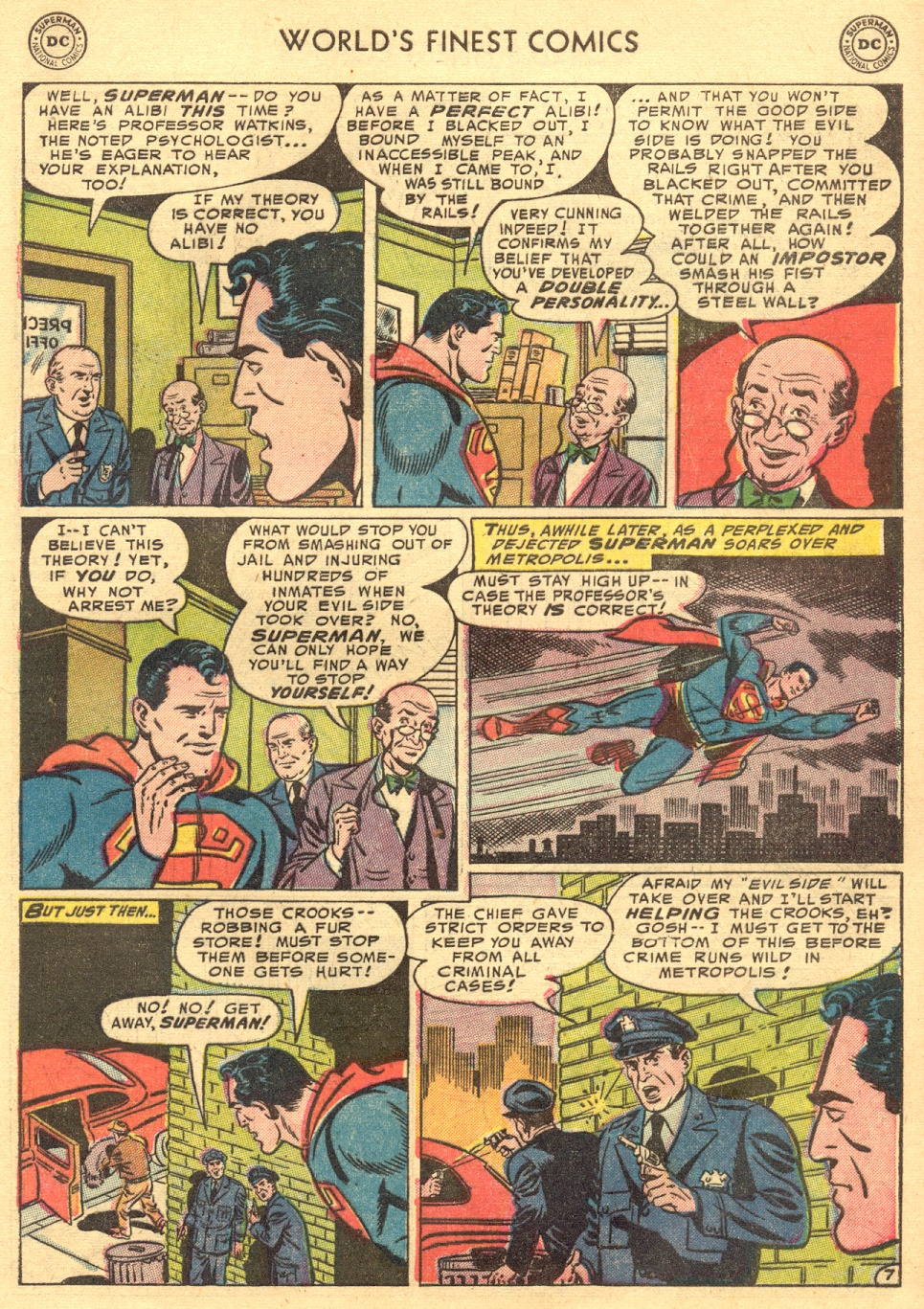 Read online World's Finest Comics comic -  Issue #70 - 9