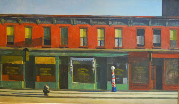 "Arts&food Closely Edward Hopper' ""early Sunday Morning"" Whitney Museum Of"