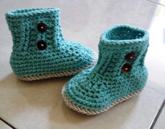 Jual Sepatu Rajut Bayi Online Asli Buatan Tangan