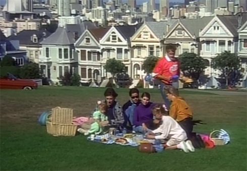 Full House Painted Ladies San Francisco Alamo Square