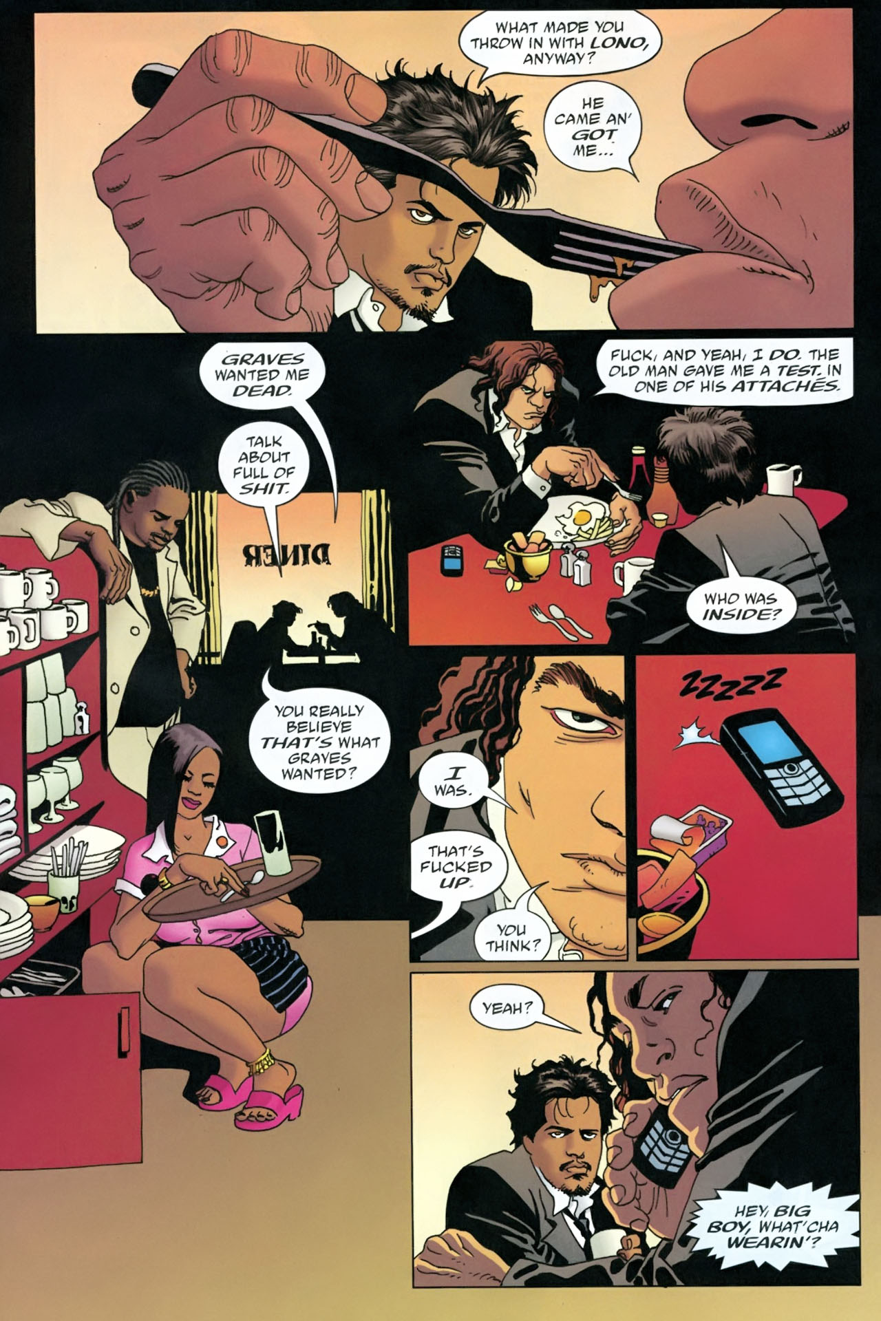 Read online 100 Bullets comic -  Issue #90 - 18