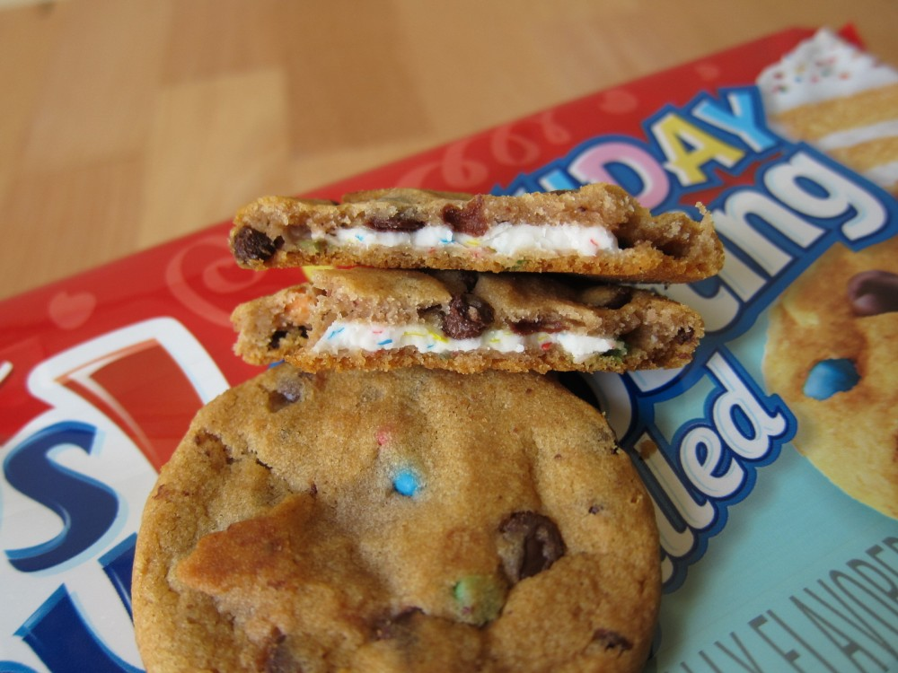 Chips Ahoy Birthday Cake Filled