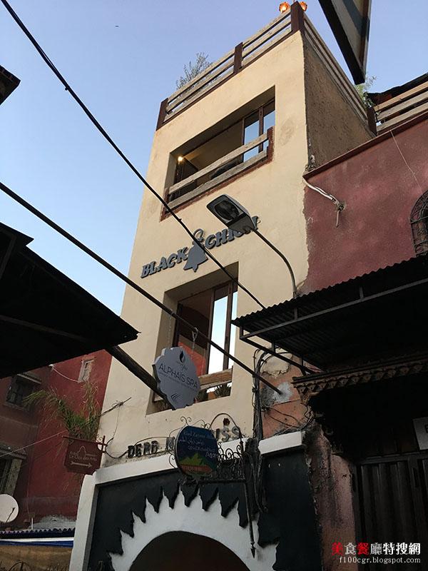 [摩洛哥] 馬拉喀什/老城區巷弄內【Black Chich】摩洛哥創意料理 小巷弄內的驚奇