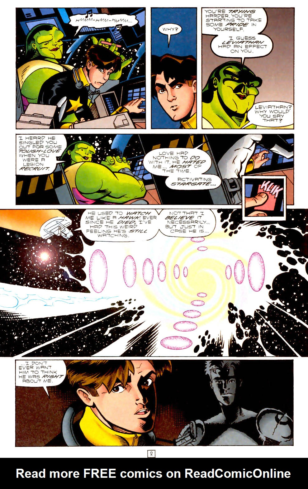 Legion of Super-Heroes (1989) 102 Page 2