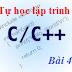 [Tự học lập trình C/C++] Bài 4: Cấu trúc rẽ nhánh (if)