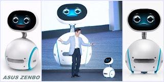 Asus Luncurkan Zenbo, Robot Imut Bagi Keluarga
