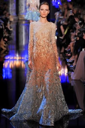 173251e1bd82 Nella sua collezione di Alta Moda dedicata alla stagione autunno inverno  2014-2015 presentata a Paris Haute Couture