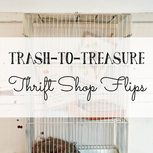 Trash to Treasure - Thrift Shop Flips