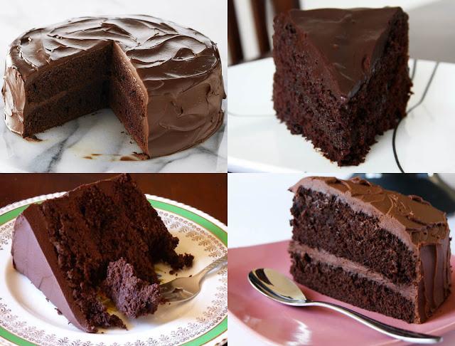 نقدم لكم طريقة عمل كيكة الشوكولاتة ديفيل فود كيك بسهولة في المنزل!