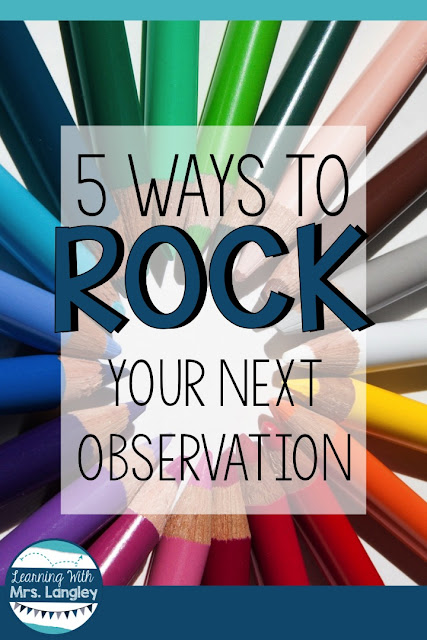 Not sure what to do for your next formal observation? Here are 5 tips that will help you prepare, take a deep breath, and relax before the big day. I have a great lesson plan example for you if you need ideas for a fun student centered lesson.
