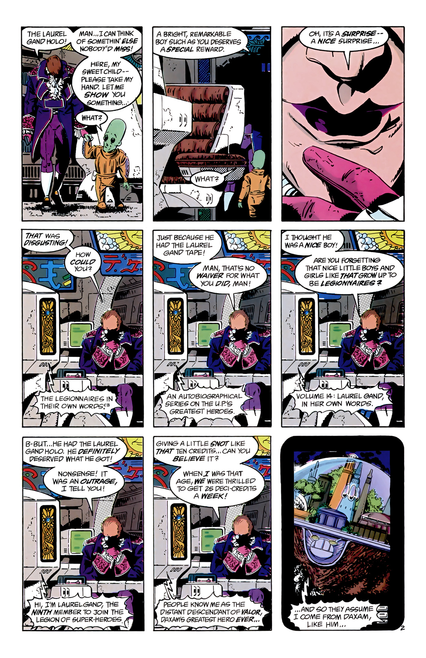 Legion of Super-Heroes (1989) 9 Page 2