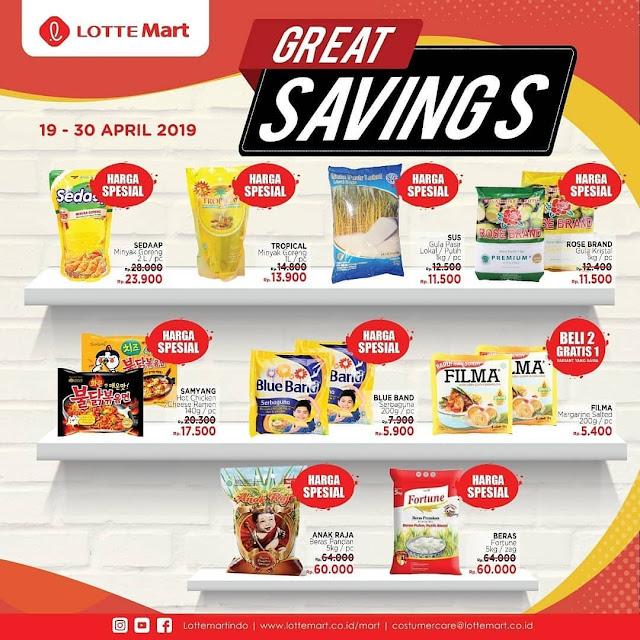 #LotteMart - #Promo #Katalog Weekdays Periode 19 - 30 April 2019