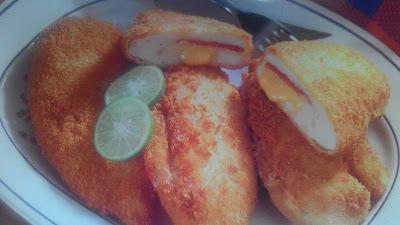 Aneka Resep Masakan Praktis Ayam Goreng Cordon Bleu Untuk Sehari-hari