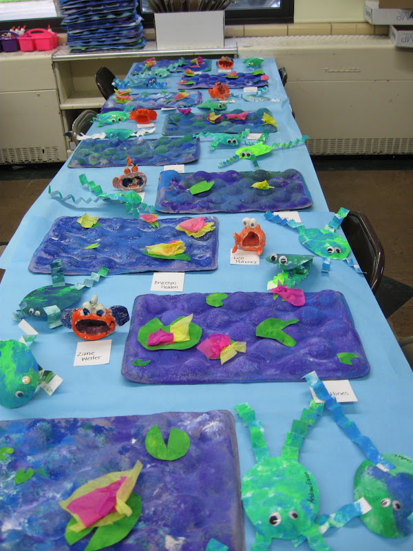 4th grade halloween, 4th grade watercolor landscapes, 4th grade weaving, 4th grade angels, 4th grade drawing, 4th grade collage, 4th grade radial design, 4th grade painting, 4th grade sculpture, 4th grade crafts, 4th grade op art, 4th grade origami, 4th grade name art, on 4th grade clay art projects