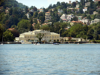 The beautiful Villa Olmo on Lake Como