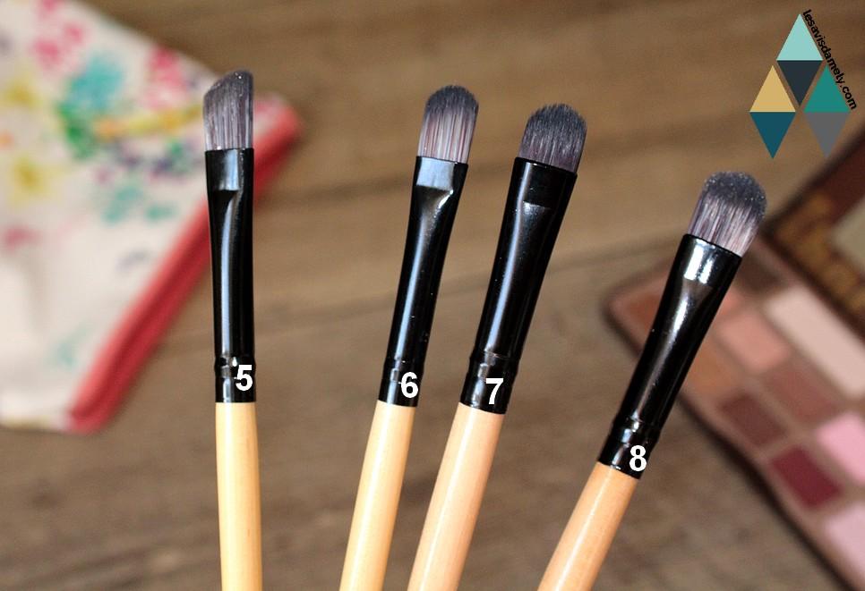 quel pinceau pour appliquer le fard à paupière ?