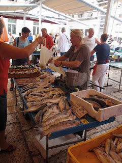 Fish Market Split Dalmatian Coast Croatia