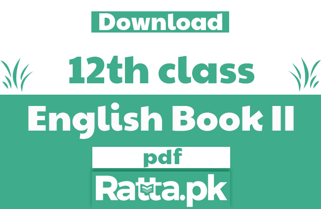 2nd Year English Book II Pdf Download - 12th class