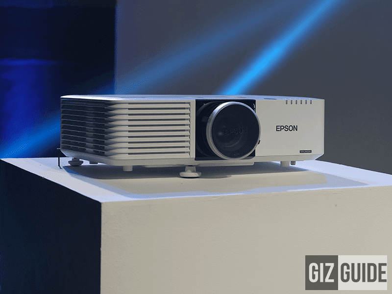 One of Epson's business laser projectors!