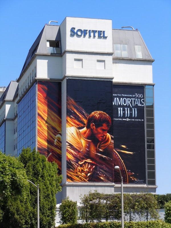 Henry Cavil Immortals teaser billboard