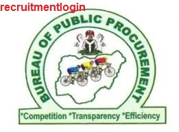 Apply Here For Bureau of Public Procurement Recruitment 2018 | Application Portal