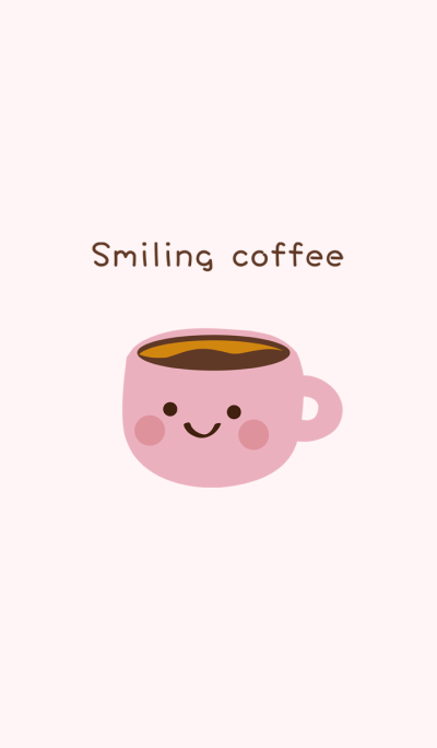 Smiling shy coffee