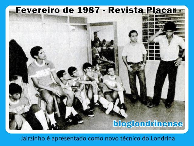 Resultado de imagem para jairzinho no Londrina