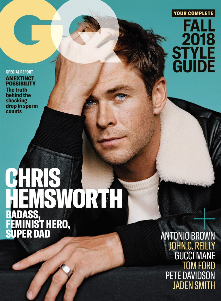 Chris Hemsworth for GQ US September 2018