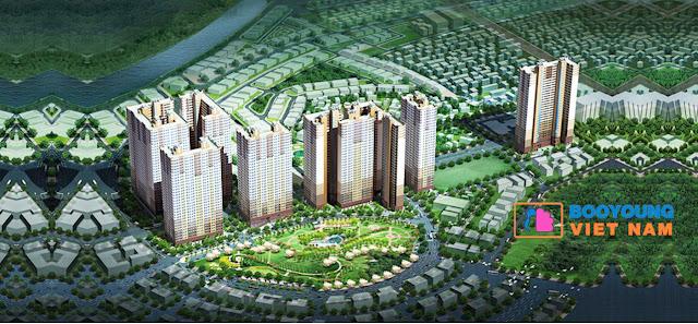 Tổng quan dự án chung cư Booyoung Vina Mỗ Lao