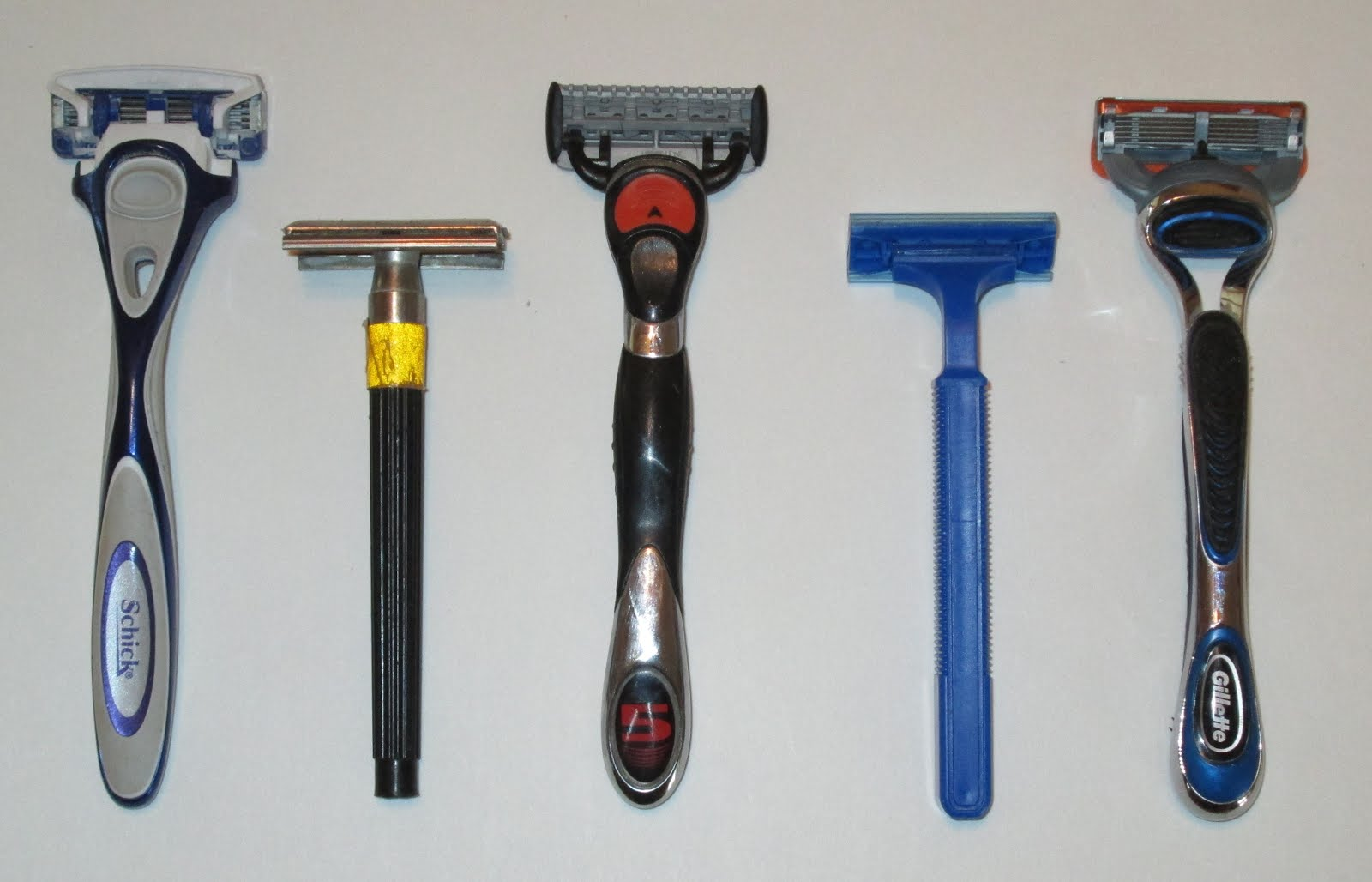 Keep Quiet: Sustainable Design - Razors - 5 blade, 4 blade ...