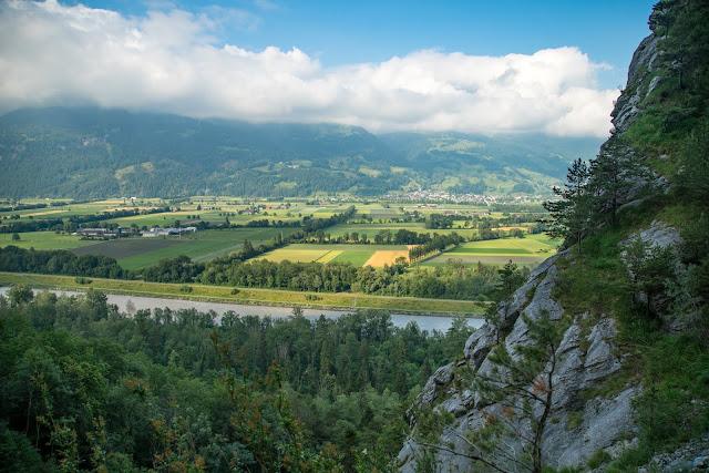Rund ums Ellhorn  Wanderung Balzers  Fürstentum Liechtenstein 09