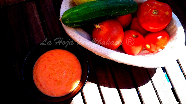 Gazpacho all'andalusa