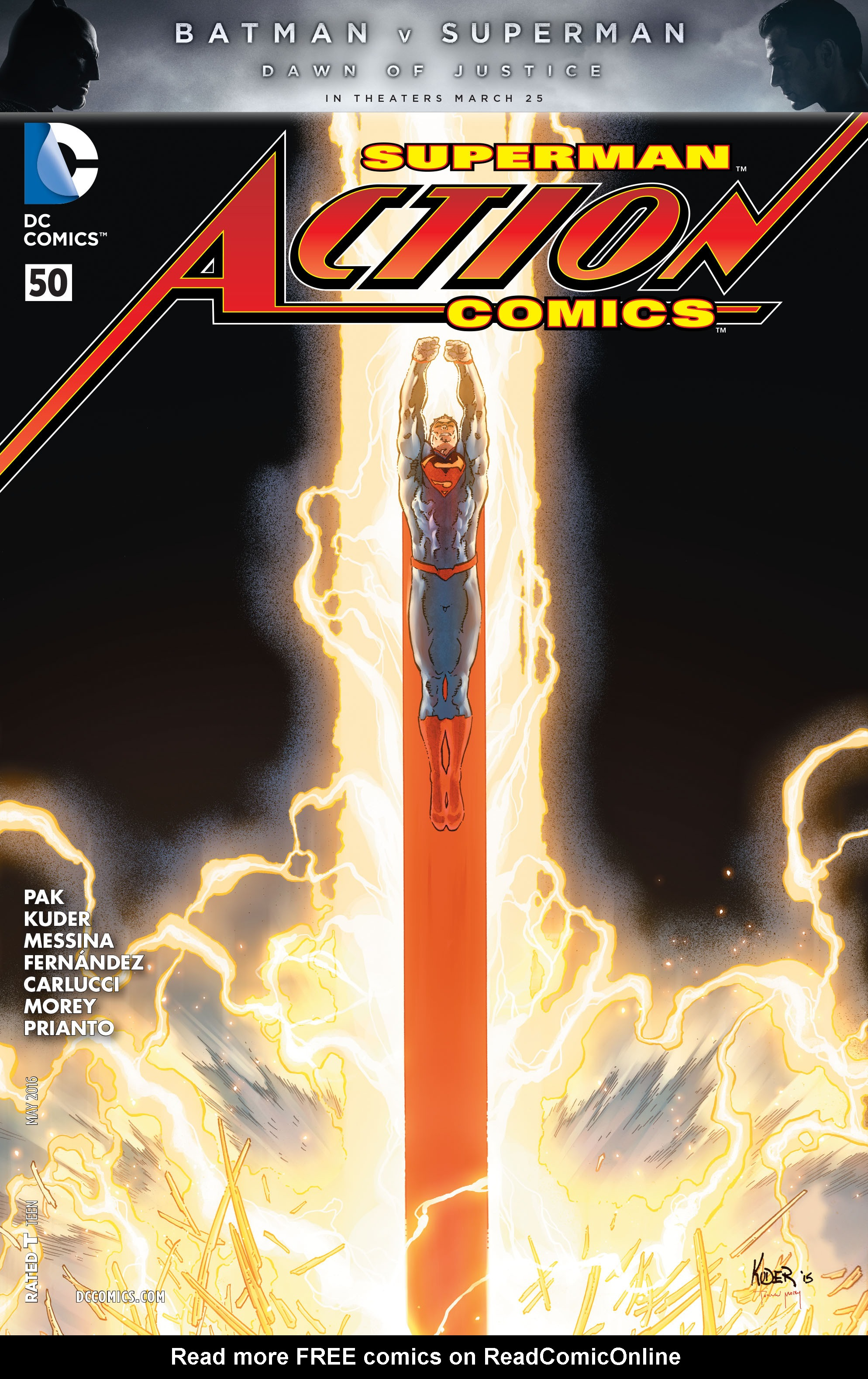 Read online Action Comics (2011) comic -  Issue #50 - 1