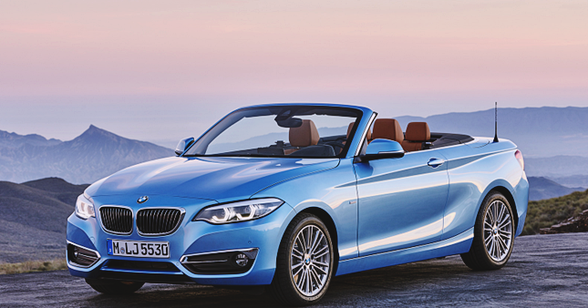 2018 Bmw 2 Series Convertible Engines Powertrain And