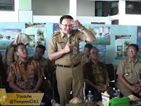 Ahok Keok di TPS Pulau Pramuka Lokasi Kasus Penistaan Agama