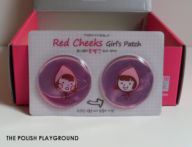 Memebox Superbox #61 My Cute Wishlist 3 Unboxing - TonyMoly Red Cheeks Girl's Patch