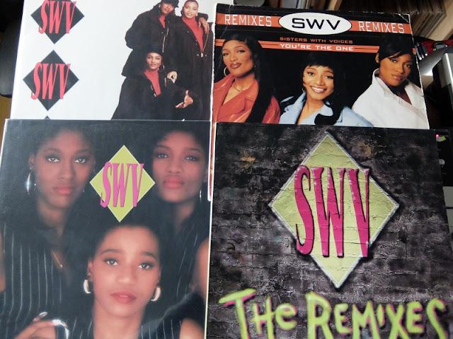 SWVのレコードの写真です。