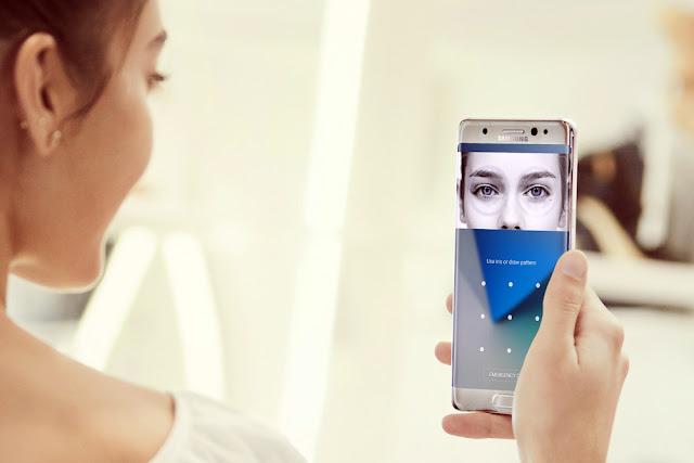 Fitur Iris Scanner Samsung Galaxy Note baru